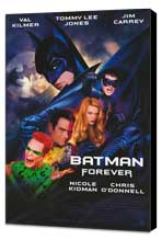 Batman Forever - 11 x 17 Movie Poster - Style A - Museum Wrapped Canvas