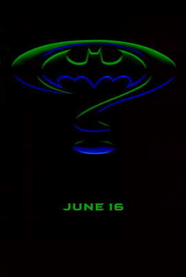 Batman Forever - 11 x 17 Movie Poster - Style G