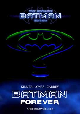 Batman Forever - 27 x 40 Movie Poster - Korean Style B