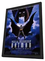 Batman: Mask of the Phantasm - 11 x 17 Movie Poster - Style A - in Deluxe Wood Frame