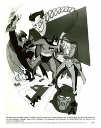 Batman: Mask of the Phantasm - 8 x 10 B&W Photo #1