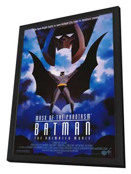 Batman: Mask of the Phantasm - 27 x 40 Movie Poster - Style A - in Deluxe Wood Frame