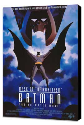 Batman: Mask of the Phantasm - 27 x 40 Movie Poster - Style A - Museum Wrapped Canvas