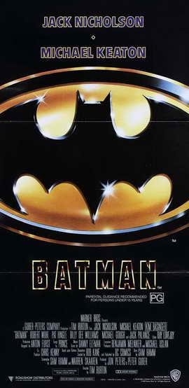 Batman - 13 x 30 Movie Poster - Australian Style A