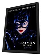 Batman Returns - 27 x 40 Movie Poster - Style D - in Deluxe Wood Frame
