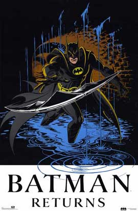 Batman Returns - 11 x 17 Movie Poster - Style D