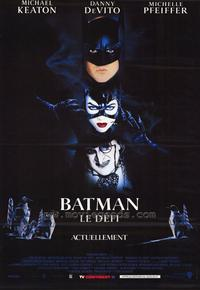 Batman Returns - 30 x 40 Movie Poster - French Style A