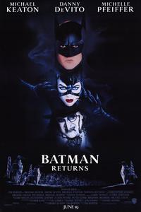 Batman Returns - 11 x 17 Movie Poster - Style A - Museum Wrapped Canvas