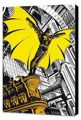Batman Returns - 11 x 17 Movie Poster - Style G - Museum Wrapped Canvas