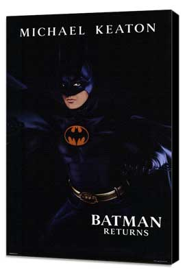 Batman Returns - 27 x 40 Movie Poster - Style E - Museum Wrapped Canvas