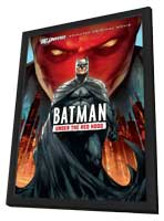 Batman: Under the Red Hood - 27 x 40 Movie Poster - Style A - in Deluxe Wood Frame
