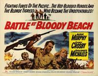Battle at Bloody Beach - 22 x 28 Movie Poster - Half Sheet Style A