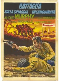 Battle at Bloody Beach - 11 x 17 Movie Poster - Italian Style A