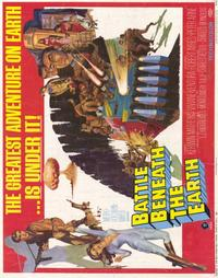 Battle Beneath the Earth - 22 x 28 Movie Poster - Half Sheet Style A