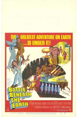 Battle Beneath the Earth - 11 x 17 Movie Poster - Style B