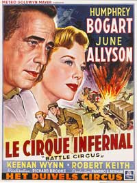 Battle Circus - 27 x 40 Movie Poster - Belgian Style A