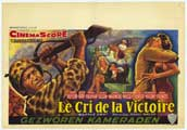 Battle Cry - 11 x 17 Movie Poster - Belgian Style A