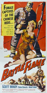 Battle Flame - 20 x 40 Movie Poster - Style A