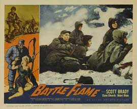 Battle Flame - 11 x 14 Movie Poster - Style C