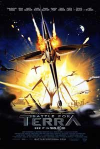Battle for Terra - 43 x 62 Movie Poster - Bus Shelter Style A