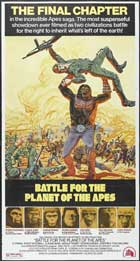 Battle for the Planet of the Apes - 20 x 40 Movie Poster - Style A