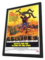 Battle for the Planet of the Apes - 11 x 17 Movie Poster - Style A - in Deluxe Wood Frame