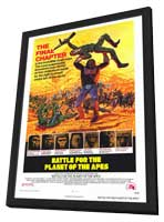 Battle for the Planet of the Apes - 27 x 40 Movie Poster - Style A - in Deluxe Wood Frame