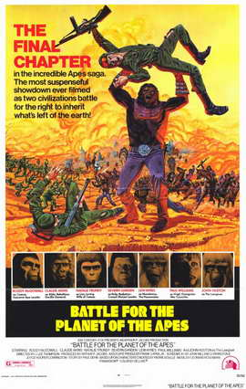 Battle for the Planet of the Apes - 11 x 17 Movie Poster - Style A