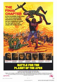 Battle for the Planet of the Apes - 43 x 62 Movie Poster - Bus Shelter Style A