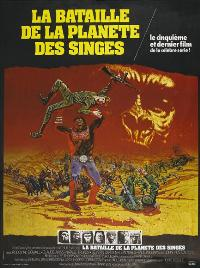 Battle for the Planet of the Apes - 11 x 17 Movie Poster - French Style A