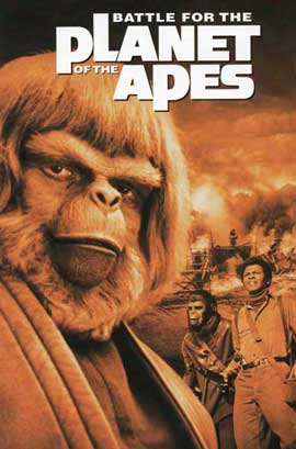 Battle for the Planet of the Apes - 11 x 17 Movie Poster - Style B