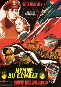 Battle Hymn - 11 x 17 Movie Poster - French Style A