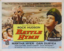 Battle Hymn - 22 x 28 Movie Poster - Half Sheet Style A