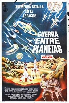 Battle in Outer Space - 27 x 40 Movie Poster - Spanish Style A