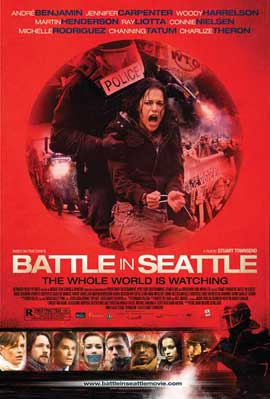 Battle in Seattle - 11 x 17 Movie Poster - Style A