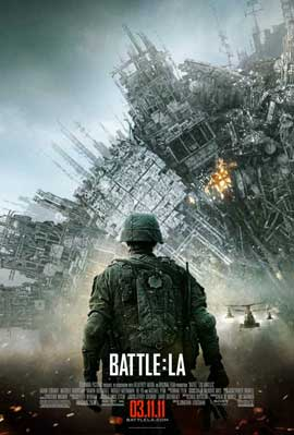 Battle: Los Angeles - 11 x 17 Movie Poster - Style H