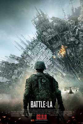 Battle: Los Angeles - 27 x 40 Movie Poster - Style C