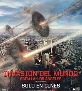 Battle: Los Angeles - 30 x 30 Movie Poster - Chilean Style A
