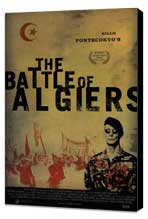 The Battle of Algiers - 27 x 40 Movie Poster - Style B - Museum Wrapped Canvas
