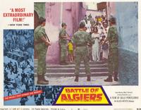 The Battle of Algiers - 11 x 14 Movie Poster - Style F