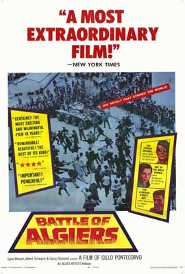 The Battle of Algiers - 27 x 40 Movie Poster - Style A