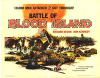 Battle of Blood Island - 22 x 28 Movie Poster - Half Sheet Style A