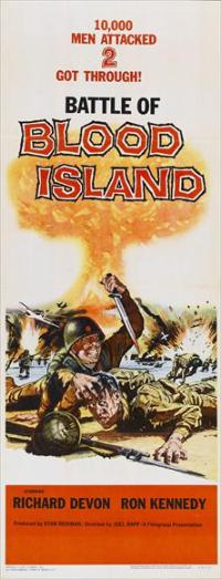 Battle of Blood Island - 14 x 36 Movie Poster - Insert Style A