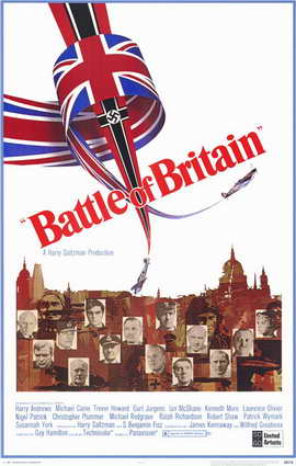 Battle of Britain - 11 x 17 Movie Poster - Style A