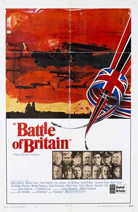 Battle of Britain - 11 x 17 Movie Poster - Style B