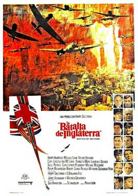 Battle of Britain - 11 x 17 Movie Poster - Spanish Style A