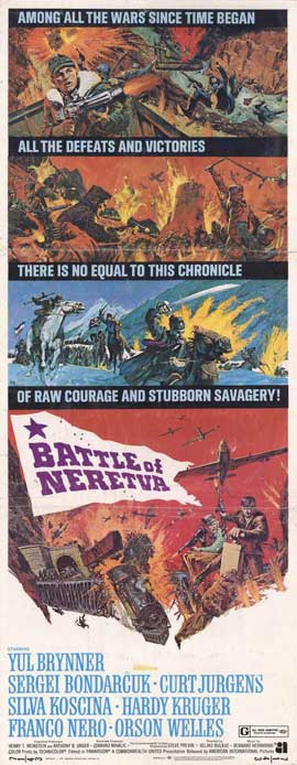 Battle of Neretva - 14 x 36 Movie Poster - Insert Style A