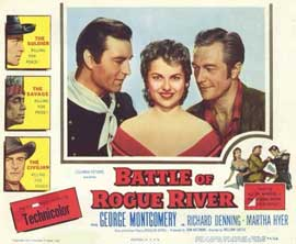 Battle of Rogue River - 11 x 14 Movie Poster - Style A