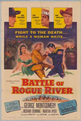 Battle of Rogue River - 11 x 17 Movie Poster - Style A