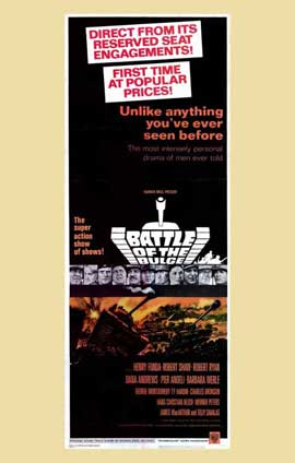 Battle of the Bulge - 11 x 17 Movie Poster - Style B